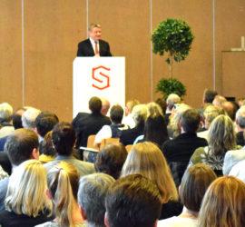 Gesunde Gemeinde Hohenstein lud ein- Minister Gröhe MdB bei seiner Rede