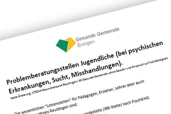 News_Gesunde_Gemeinde_Anlaufstellen_Probleme_Jugendliche_2017