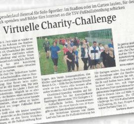 Artikel Gea Virtuelle Charity-Challenge